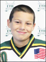 My name is Kai Myers and I currently am a squirt in Everett Youth Hockey.